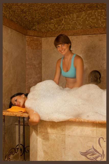 Мыльный массаж в москве